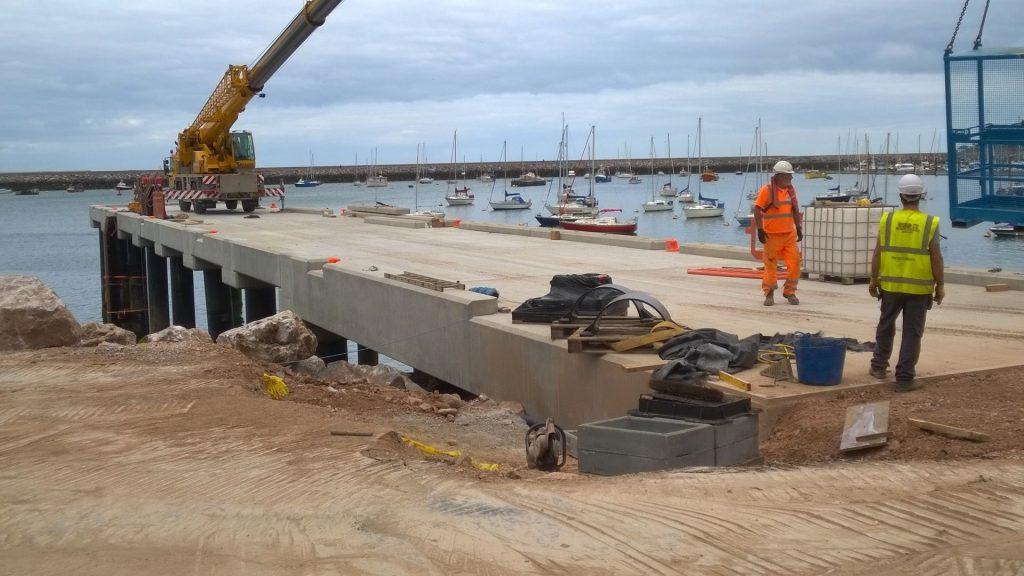 Oxen Cove Jetty Brixham - TDA Engineering web