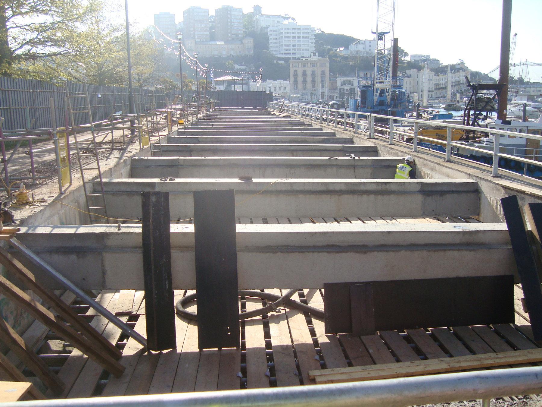 Princess Promenade, Torquay: Deck Replacement